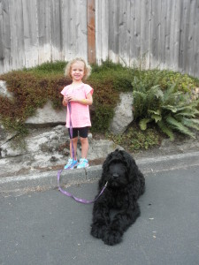 14-week-old Bogie and Johanna in Kirkland. 22 August.