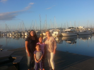 After a nice dinner at Anthony's here in Everett
