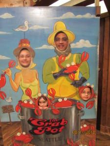 Crabpot fun!