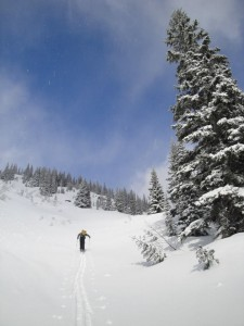 Backcountry skiing is my sport of choice in the winter
