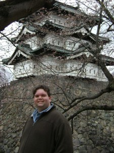 Me at Hirosaki Castle