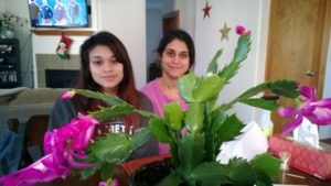 Our daughters, Flora & Paulina