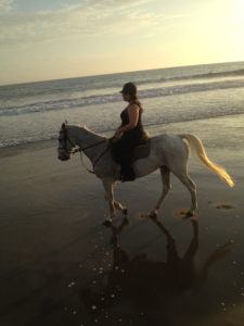 Riding at la Playa Villa, Chorrilos, Peru