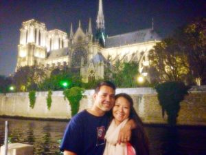 Vacation with my husband, Jesse (Paris, France)