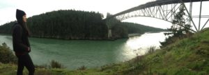 Andralia-Lei at Deception Pass