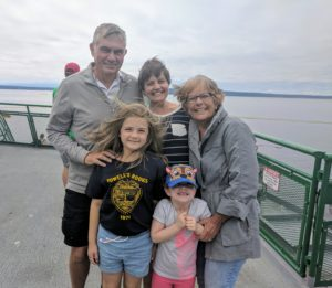 Grammi and Grampie leave Florida to brave the ferry